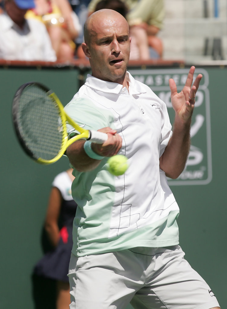 Ivan Ljubicic in Ivan Ljubicic at the BNP Paribas OPen ... Ljubicic