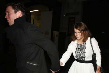 Jack Brooksbank Princess Eugenie Spotted with Her Boyfriend in London
