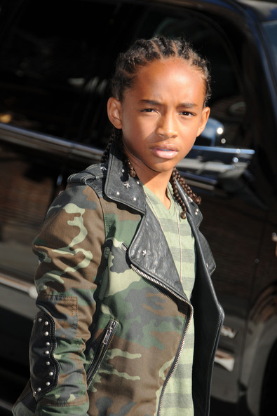 will smith son jaden. Jaden Smith at the quot;Late Show