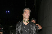 Jane's Addiction singer Perry Farrell attends the Rolling Stones concert at the Staples Center in Los Angeles