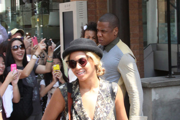 Jay-Z Blue Ivy Carter Jay-Z and Beyonce Take Their Daughter Out to Lunch