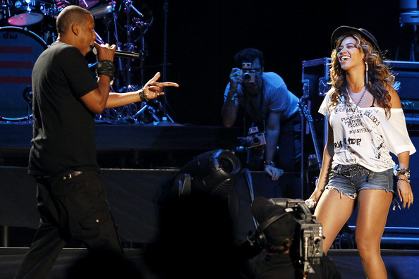 Beyonce+Knowles in Jay-Z Performs at Coachella Music Festival