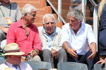 Charles Gerard Jean-Paul Belmondo at the 2011 French Open