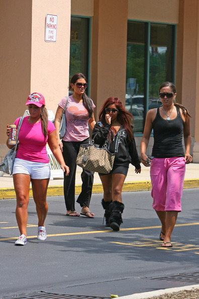 jersey shore cast members girls. jersey shore cast members.