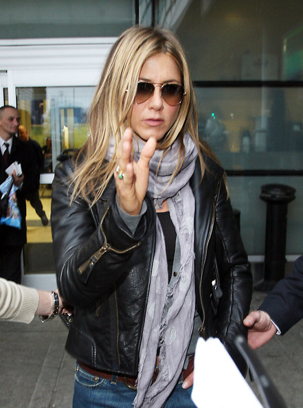 Jennifer Aniston Jennifer Aniston arrives at NYC after attending her film