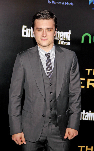 "Josh Hutcherson at the Los Angeles premiere of ""The Hunger Games"" held at the Nokia Theatre L.A. Live, Los Angeles."