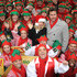 Jenny McCarthy Dean McDermott Photos - Jenny McCarthy and Dean McDermott attend the ABC Family's Elf Party, held at New York's Bryant Park. The event was reconised by Guinness World Records as the largest ever gathering of Santa's Elves in the world. - Jenny McCarthy at the ABC Family's Elf Party