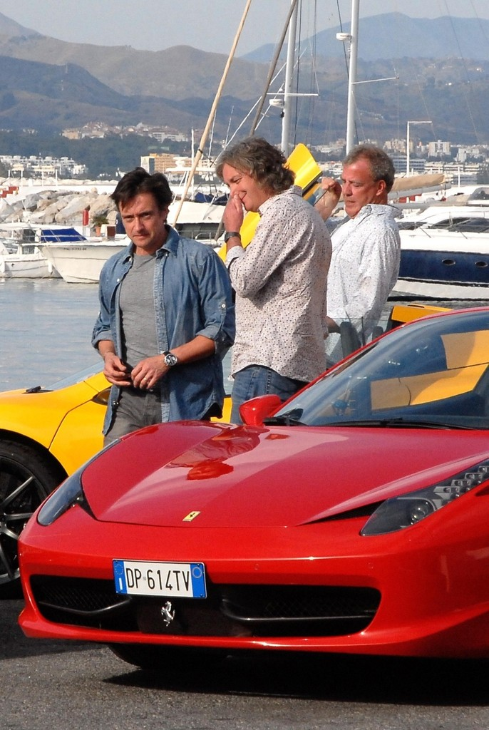 richard hammond photos 39 top gear 39 films in puerto banus. Black Bedroom Furniture Sets. Home Design Ideas