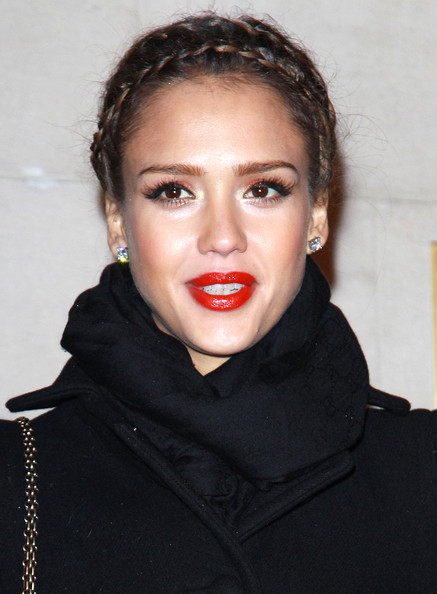Jessica Alba at London's Grosvenor House Hotel for the BAFTA's after-party.