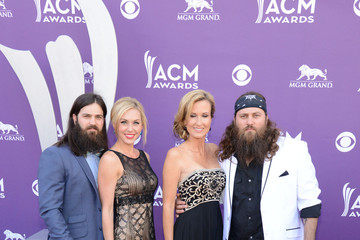 Jessica Robertson Korie Robertson Arrivals at the Academy of Country