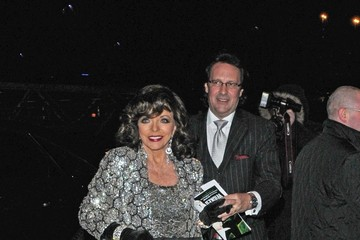 Joan Collins Celebs Leaving the Viva Forever Party 2