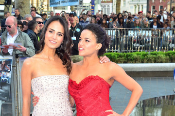 Jordana Brewster Michelle Rodriguez 'Fast & Furious 6' Premieres in London