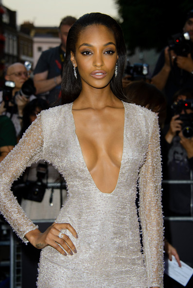 Jourdan Dunn - Arrivals at the GQ Men of the Year Awards