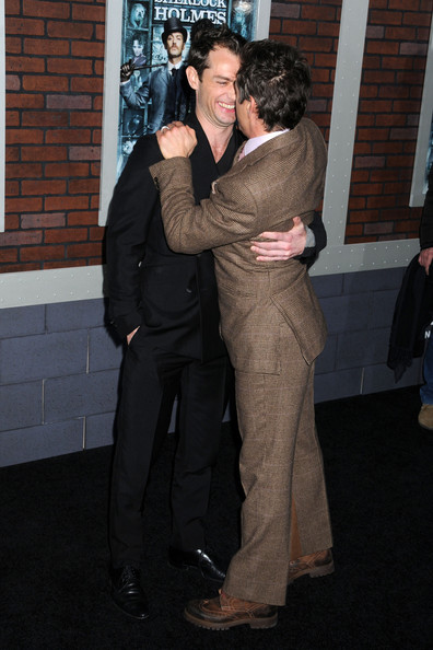 Jude Law and Robert Downey Jr. - The New York Premiere of Sherlock Holmes