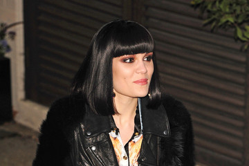 Jessie J Tulisa Contostavlos and Others at 'X Factor'