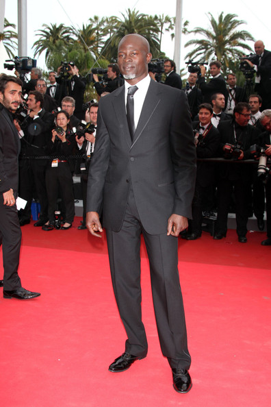 "Djimon Hounsou at the premiere screening of ""Midnight in Paris"" on the opening night of the  64th Annual Cannes Film Festival."