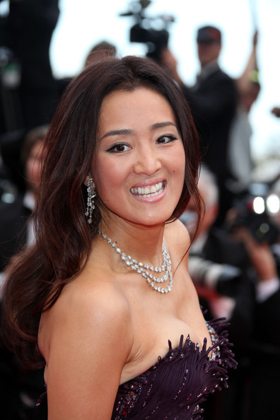 """Gong Li at the premiere screening of """"Midnight in Paris"""" on the opening night of the  64th Annual Cannes Film Festival."""