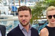 Justin Timberlake attends the photocall for 'Inside Llewyn Davis' during the 66th Annual Cannes Film Festival at Palais des Festivals in Cannes.