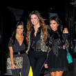 The Kardashians Leave Their Hotel in NYC