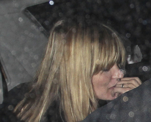 Kate Moss Leaves the Dorchester in London Zimbio