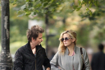 Bingham Hawn Bellamy Kate Hudson and Family in North London 2