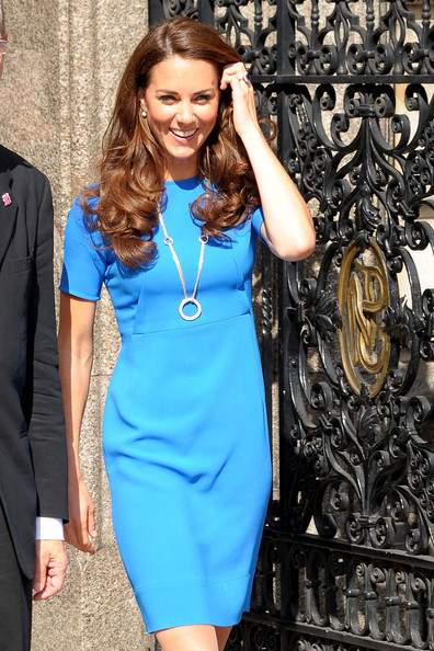 Kate Middleton - Kate Middleton in Blue