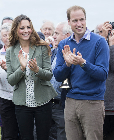 Kate Middleton - Kate Middleton and Prince William Visit Anglesey — Part 2