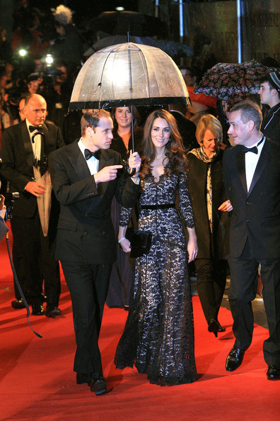 Will and Kate on the Red Carpet