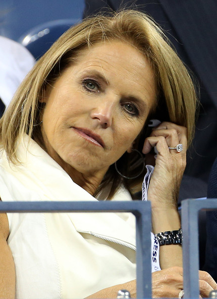 Katie Couric Pictures Katie Couric And Her Fiance Watch