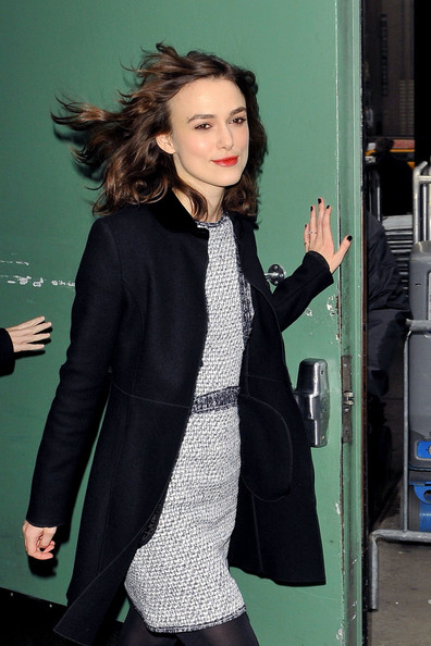 "Keira Knightley - Keira Knightley at ""Good Morning America"" in NYC"