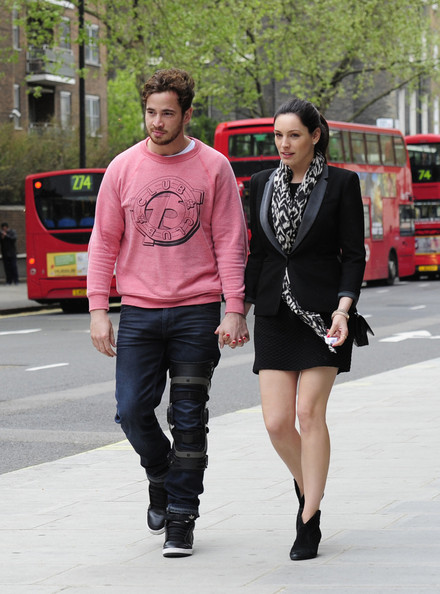 Kelly Brook and Danny Cipriani Spend the Day Together
