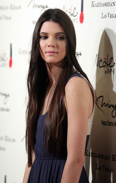 Kendall Jenner - The Kardashians Open a Store in Vegas