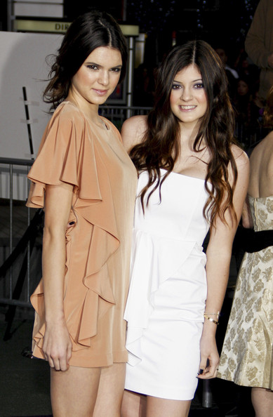 """Kendall Jenner Kendall and Kylie Jenner at the Los Angeles premiere of """"Justin Bieber: Never Say Never"""" held at the Nokia Theatre L.A. Live, Los Angeles."""