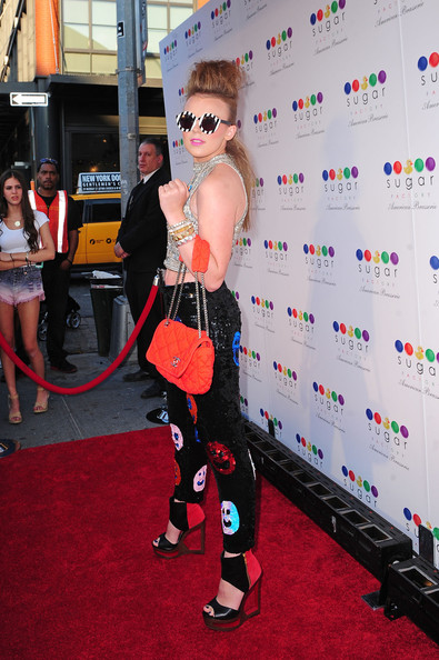 Celebs at the Sugar Factory Opening in NYC