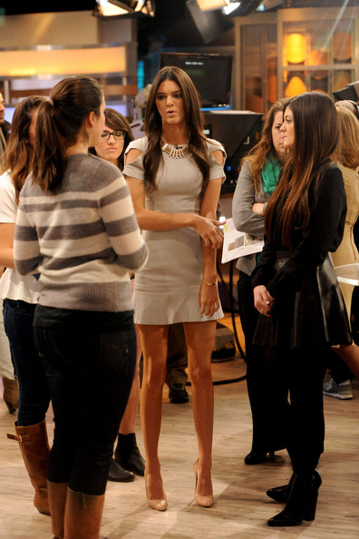 dcdb595a63dba ... Kendall and Kylie Jenner promote their new PacSun clothing line on  'Good Morning America' ...