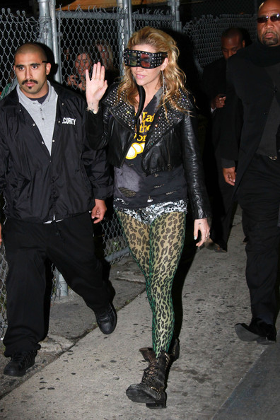 "K$sha Leaves the ""Jimmy Kimmel Live"" Studios [jimmy kimmel live,talk show,fashion accessory,suit,fashion model,fashion,tights,leather jacket,textile,sunglasses,jacket,outerwear,glasses,leather jacket,pop star,studios,sha,pair,fashion,tights,kesha,britney spears,tights,leather jacket,clothing,fashion,hosiery,leggings,dress,stocking]"