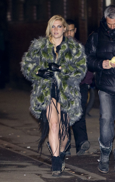 Kesha Kesha leaves the O2 Shepherds Bush Empire after playing a one-off show for her UK fans.