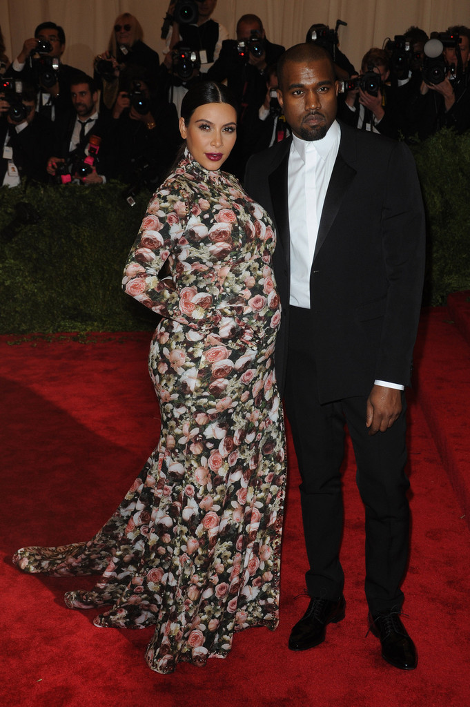 Kim Kardashian - Celebs at the Met Gala in NYC
