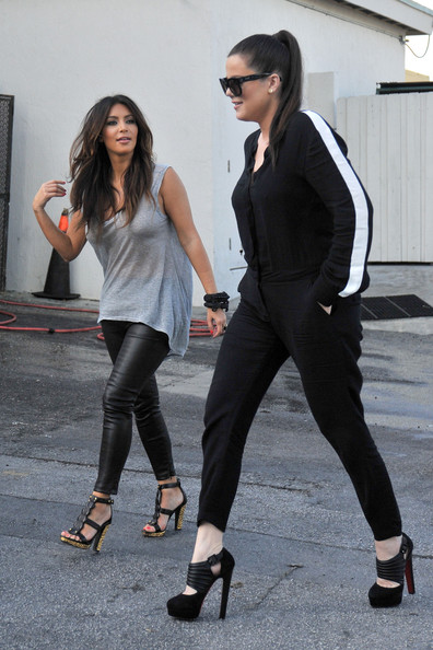Kim Kardashian And Khloe Kardashian Photos Photos Kim And Khloe