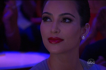 "Kim Kardashian Scenes from ""Dancing With The Stars"""