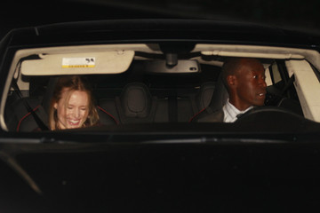 Kristen Bell Don Cheadle Stars Arrive at Justin Theroux's Birthday Party