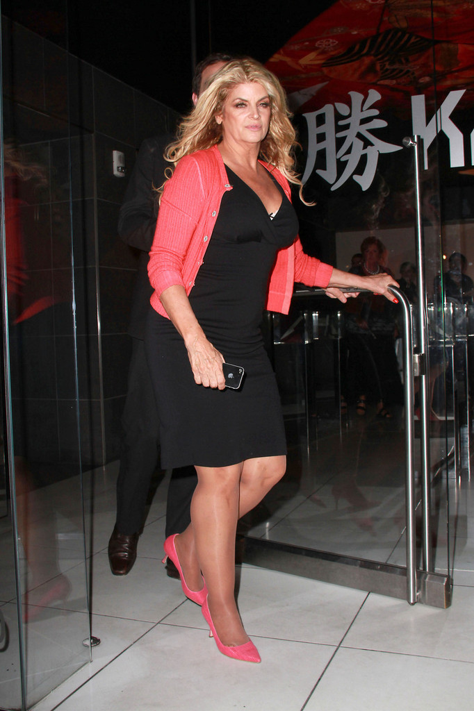 Kirstie Alley Photos Photos Kirstie Alley At Katsuya