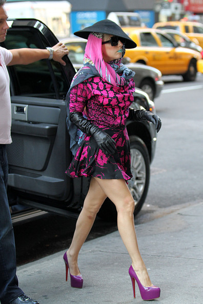 Lady Gaga - Lady Gaga Out in NYC