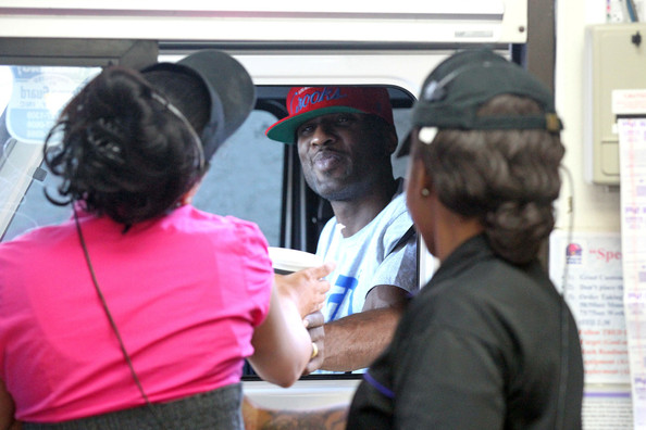 lamar odom makes a fast food run pictures zimbio