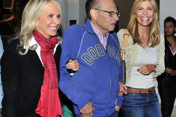 Shawn Southwick-King Larry King on Rodeo Drive in Beverly Hills