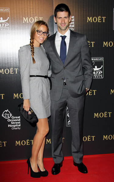 Jelena+Ristic in Celebs at the ATP World Tour Finals Gala