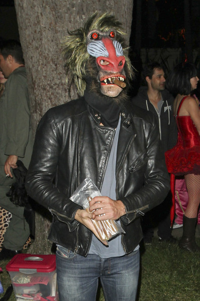 Leonardo DiCaprio at a Halloween Party in Beverly Hills []