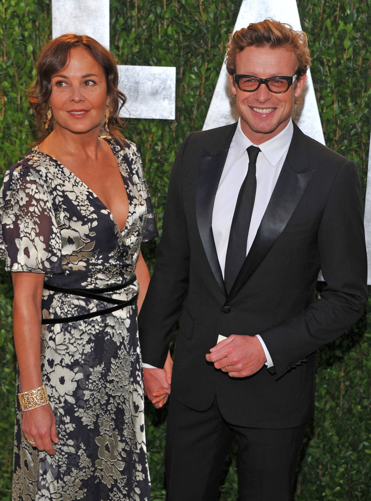 Simon Baker And Rebecca Rigg Photos Photos Celebs At The