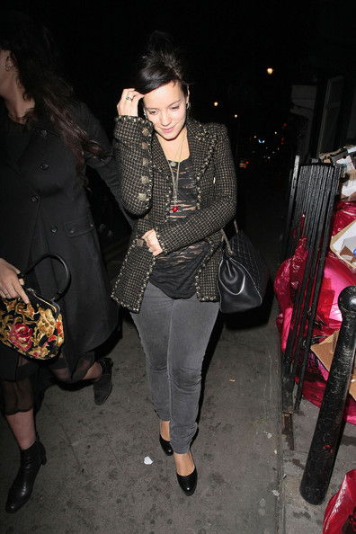 Lily allen fat belly