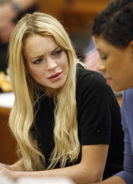 lindsay lohan white dress at court. Lindsay+lohan+court+white+